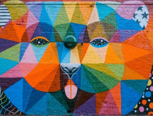 kolorowe graffiti